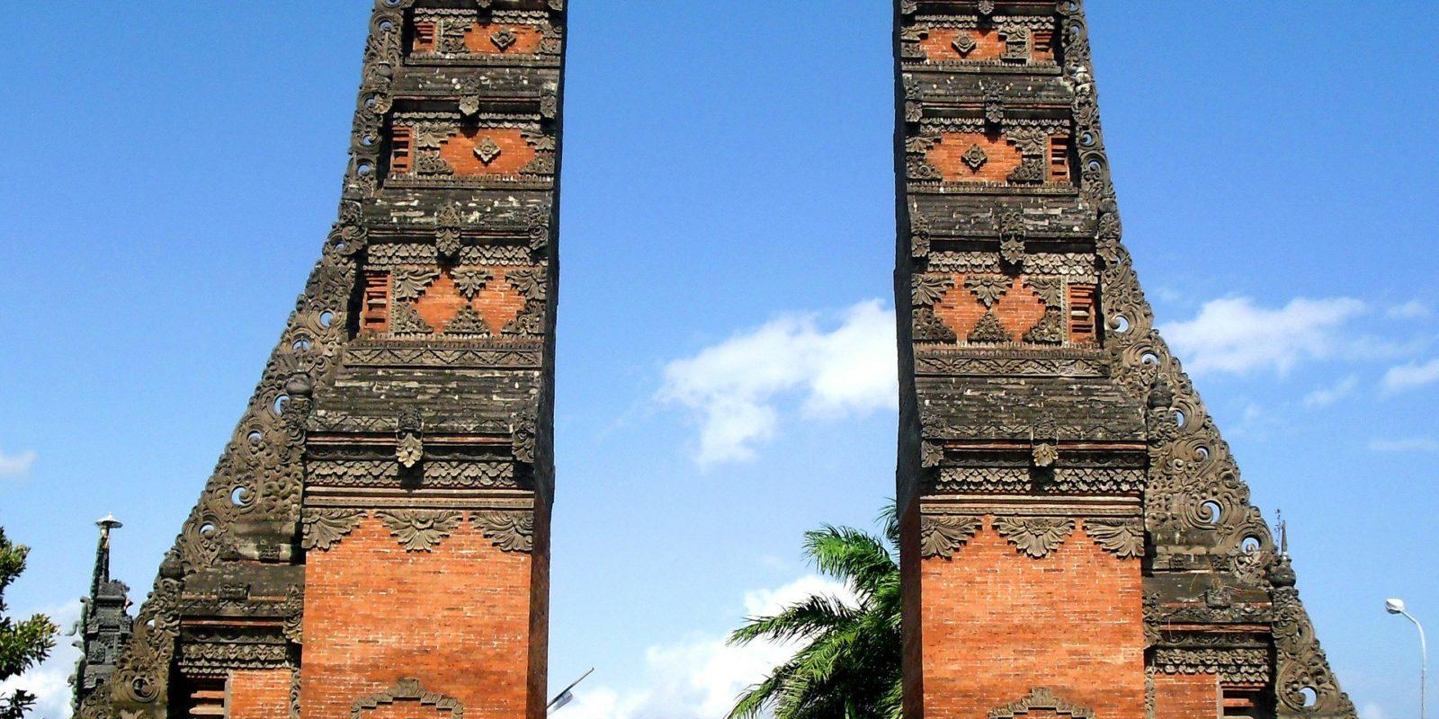Gapura Gilimanuk, Bali Indonesia.