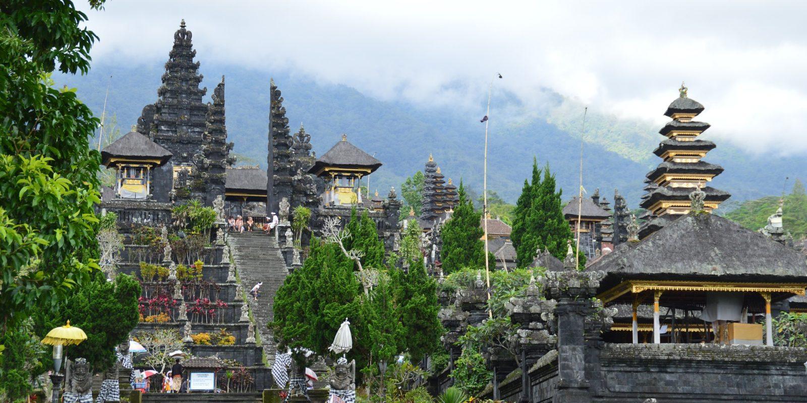 Hindu Temple architecture, Bali, Indonesia.