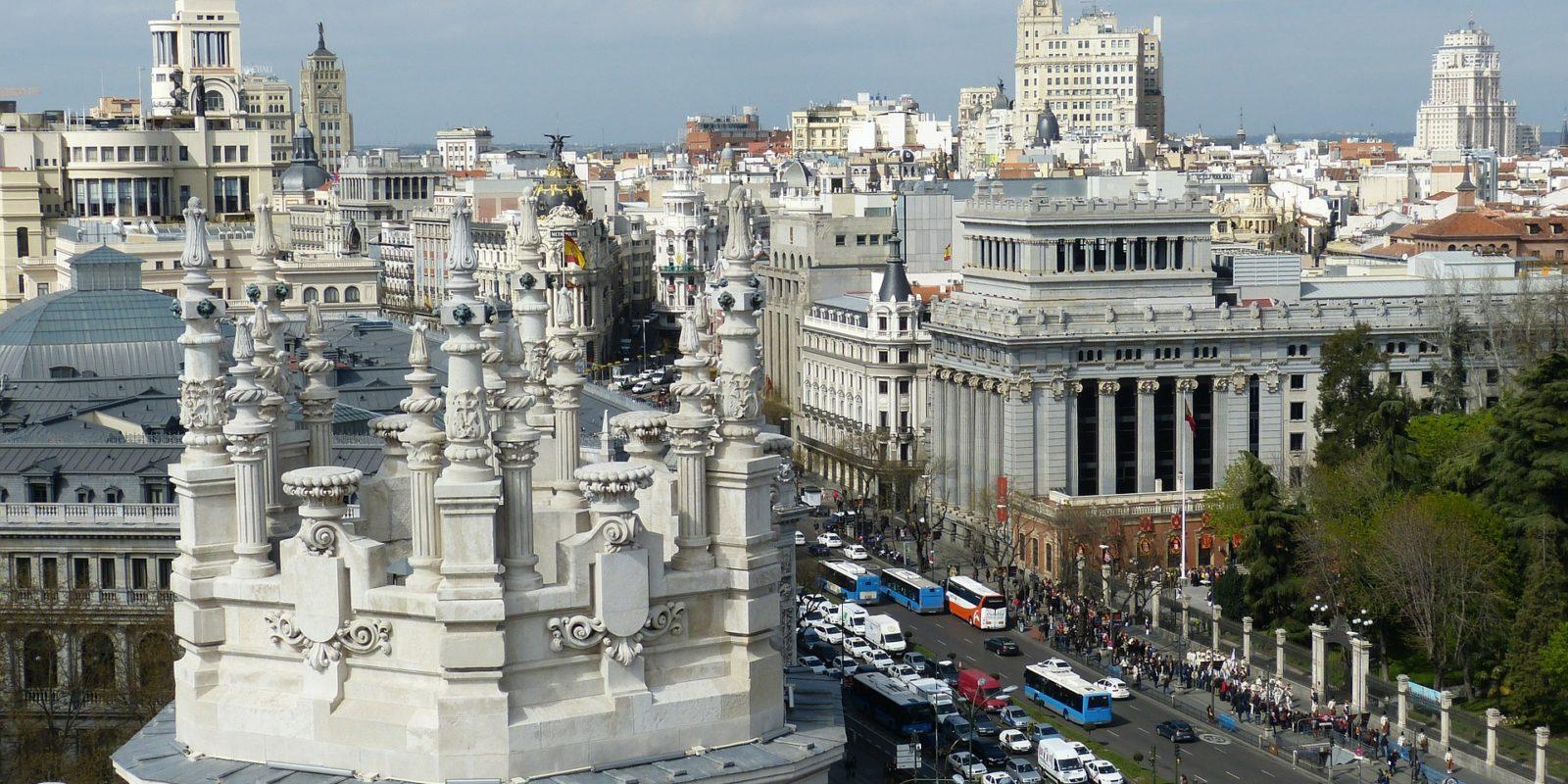 Madrid City Architecture, Spain