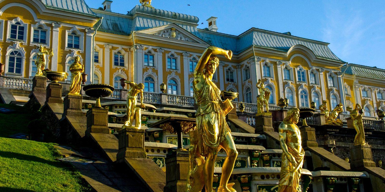 Peterhof Palace, St. Petersburgh, Russia