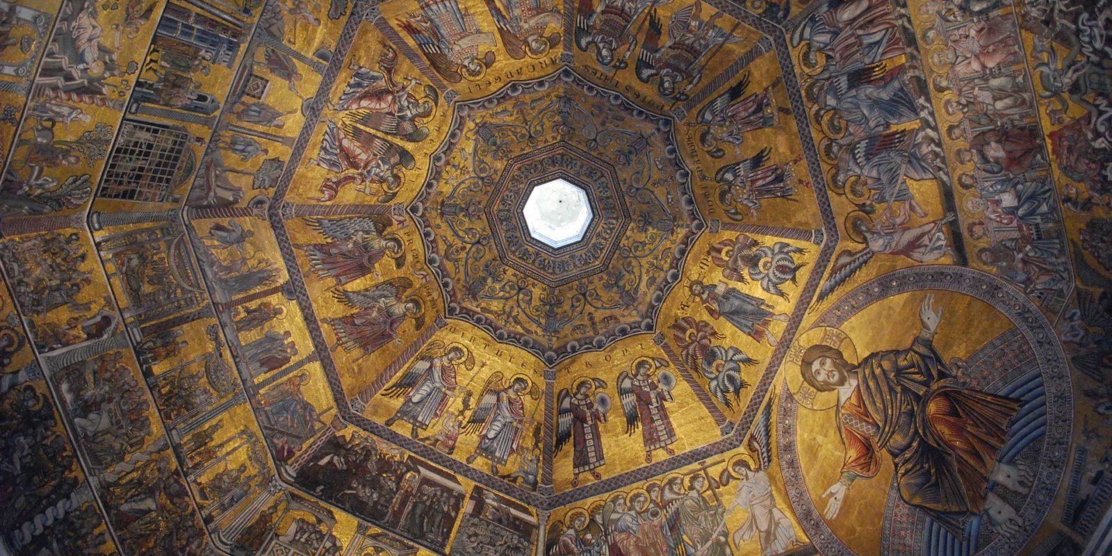 Renaissance art Duomo Church, Florence, Italy