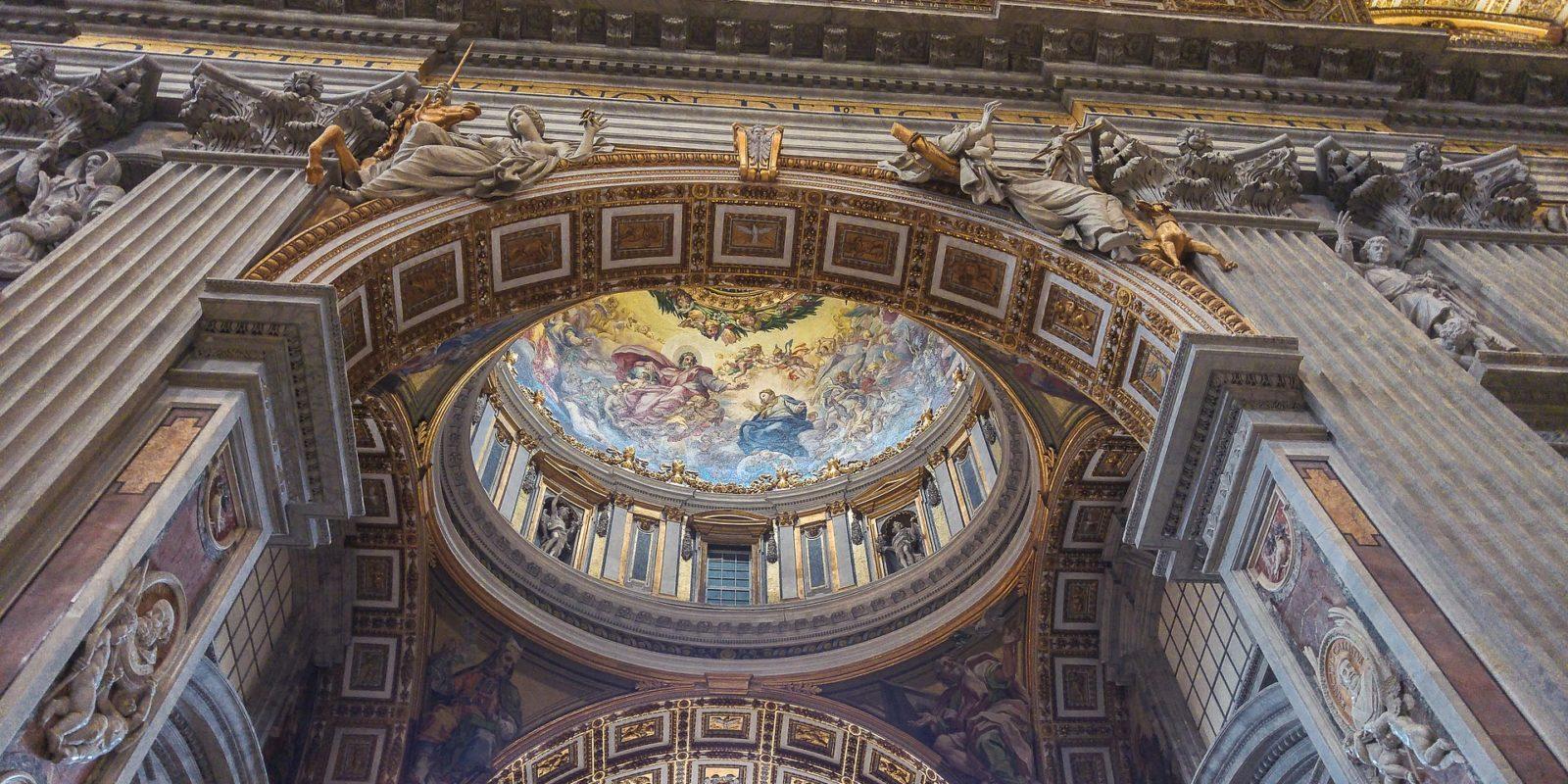 Rome-Vatican Dome, Renaissance Art.