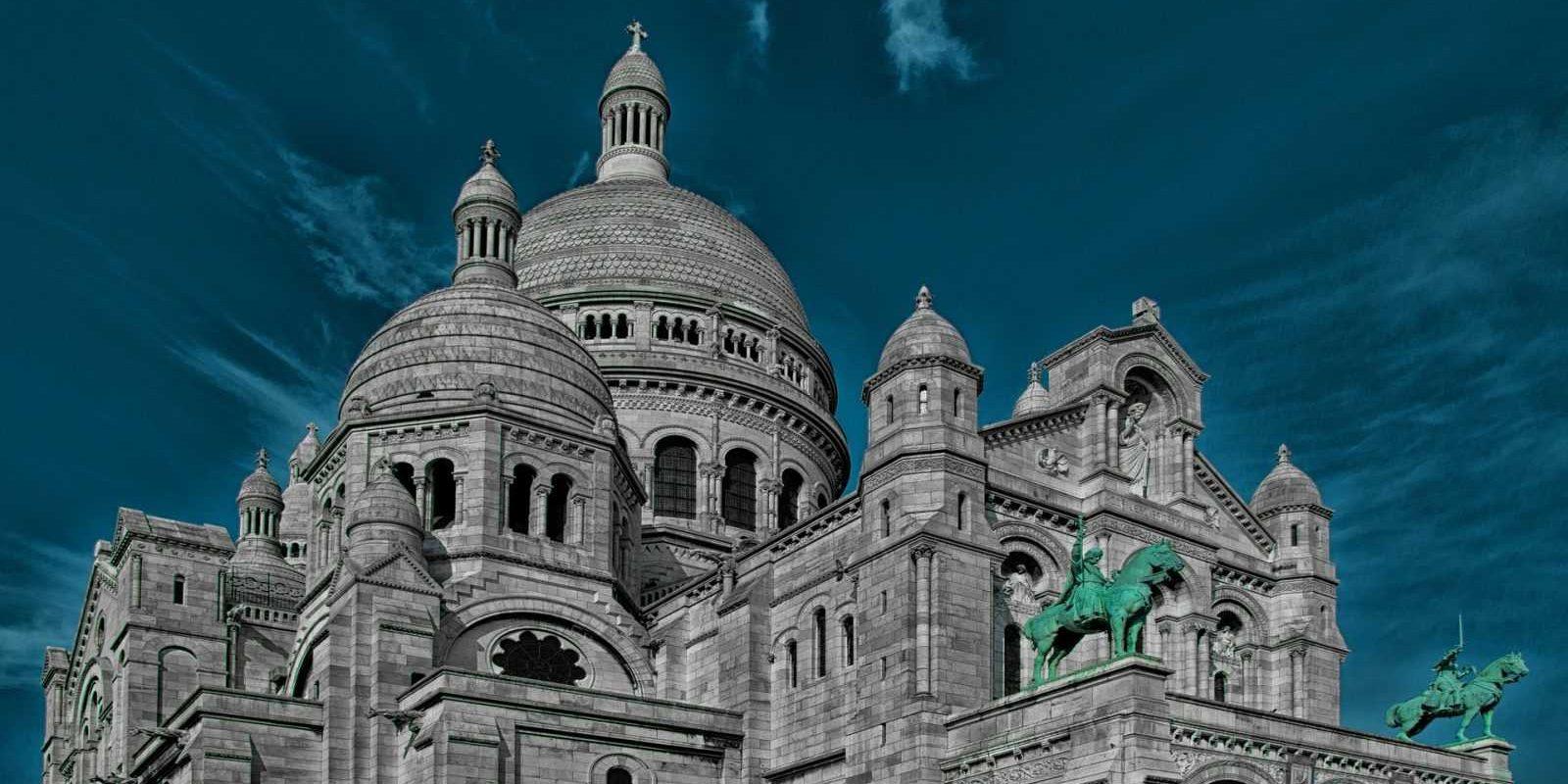 Sacré-Cœur Basilica Church Cathedral, Paris