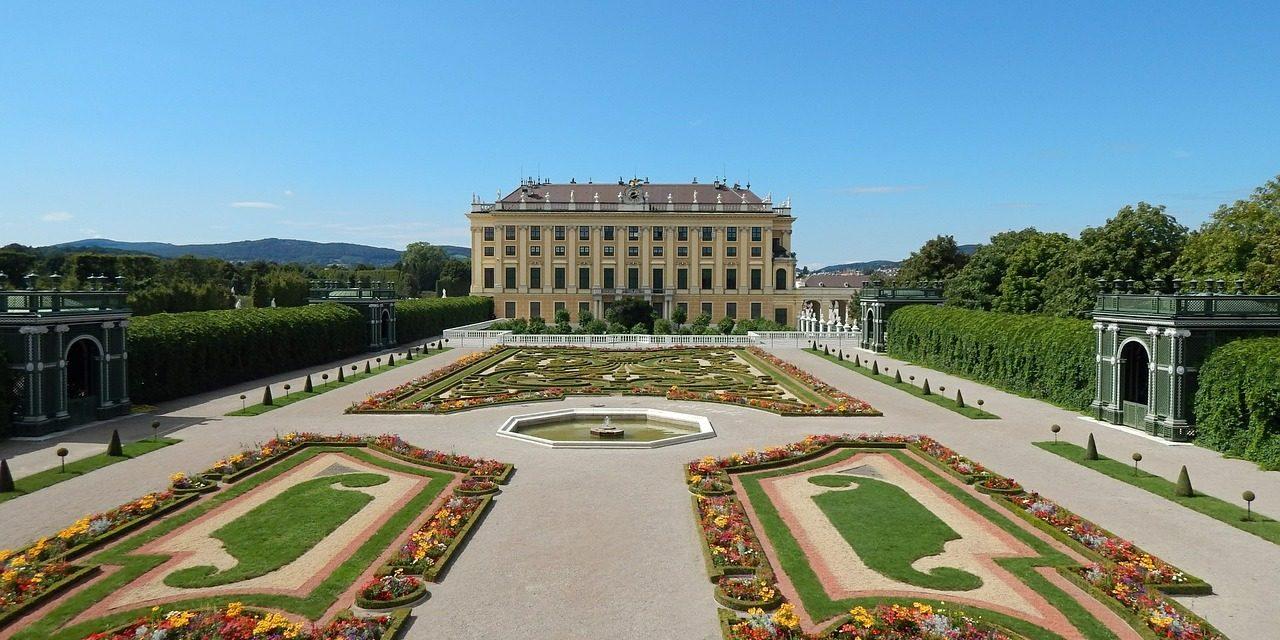 Schoenbrunn Garden, Vienna, Austria