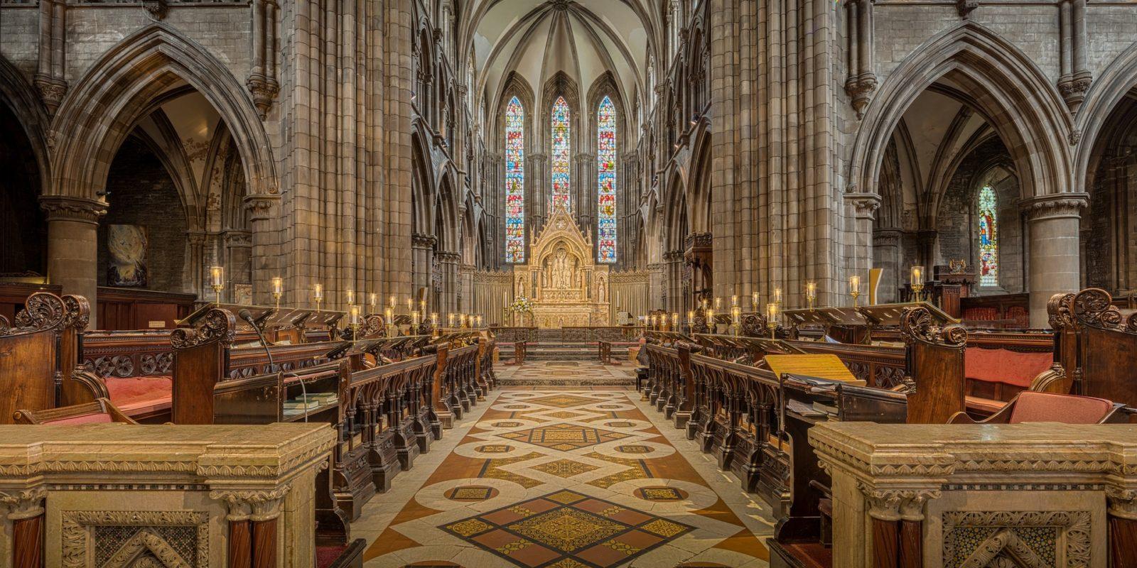 St Mary's Cathedral, Edinburgh,Scotland