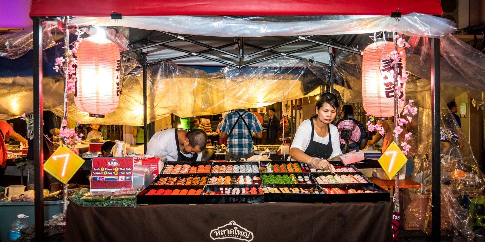 Streetfood, Phuket, Thailand.