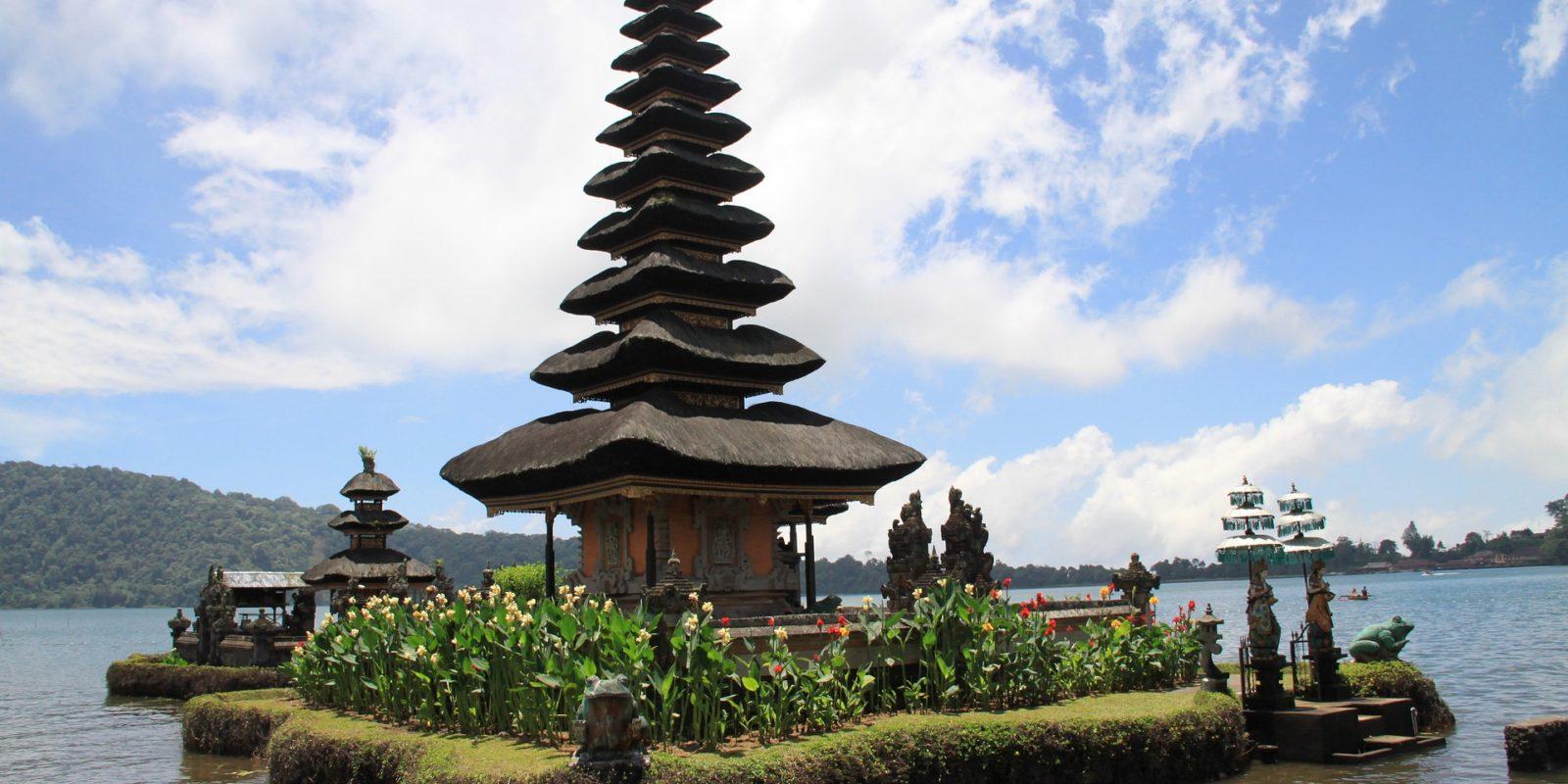 Ulun Danu Temple, Bratan Lake , Bali, Indonesia.
