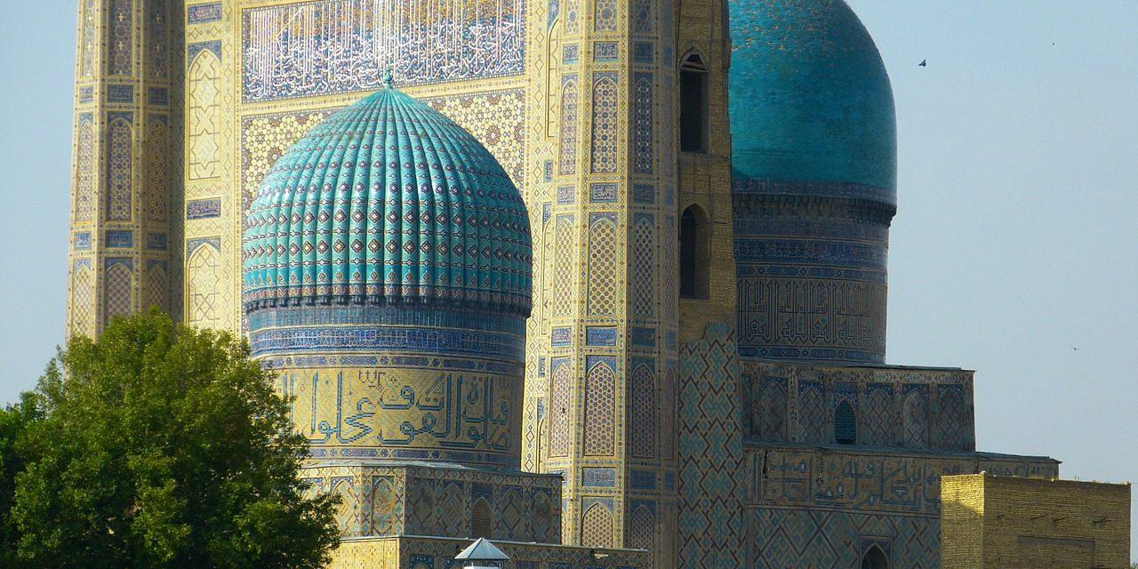 Bibi Xanom Mosque, Samarkand, Uzbekistan, Russia