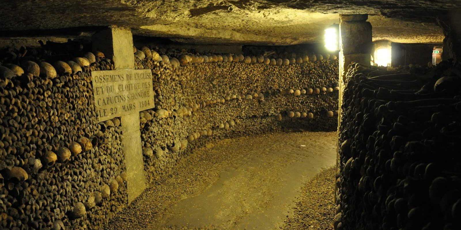 Catacombs, Cemetery, Paris FRANCE