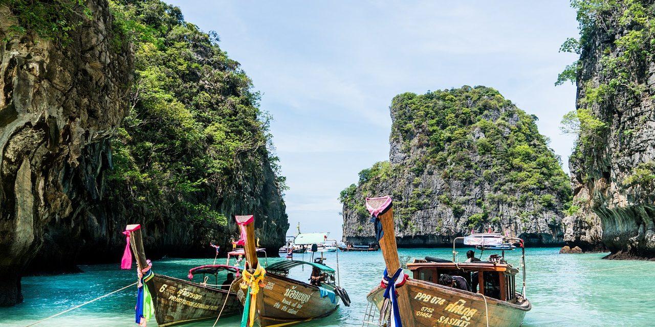 Phi-Phi Island boat ride, Phuket, Thailand.