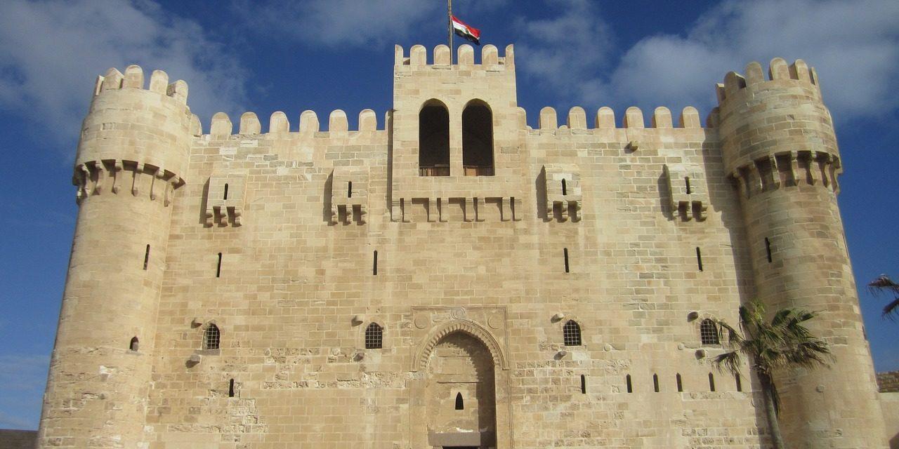 Kaitbey Castle, Alexandria, Egypt.