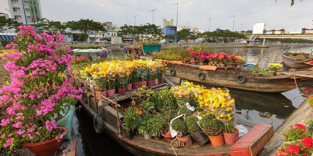 Flower Market, Ho Chi Minh , Vietnam