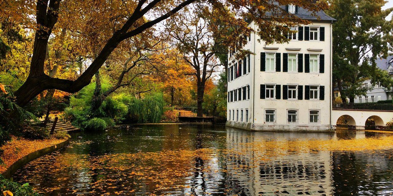 Holzhausen Park, Frankfurt , Germany.