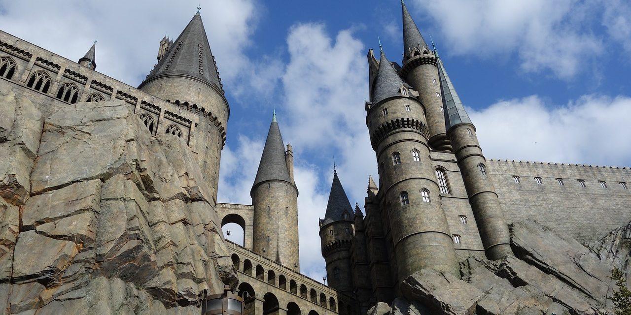 Harry Potter Castle, Universal Studios,Osaka, Japan