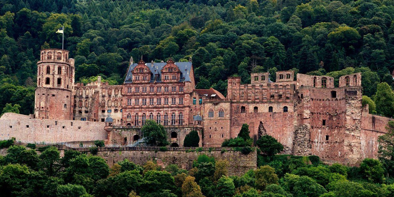 Heidelberger Schloss Fortress, Baden Baden, Germany
