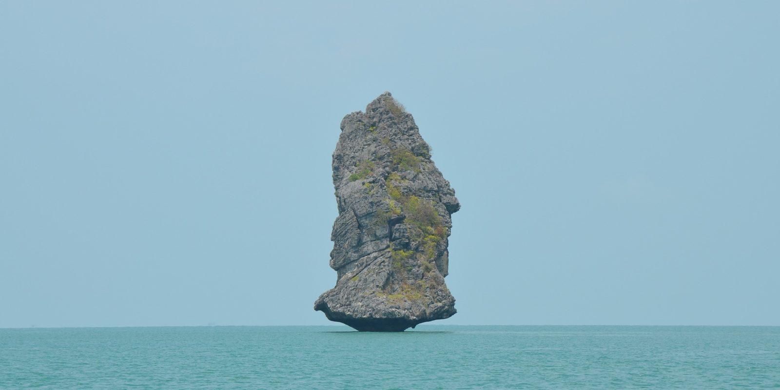 James Bond Island Rock Thailand