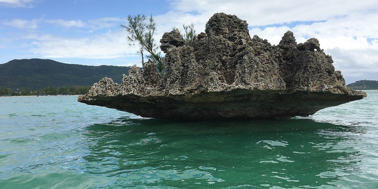 Lagoon, Mauritius