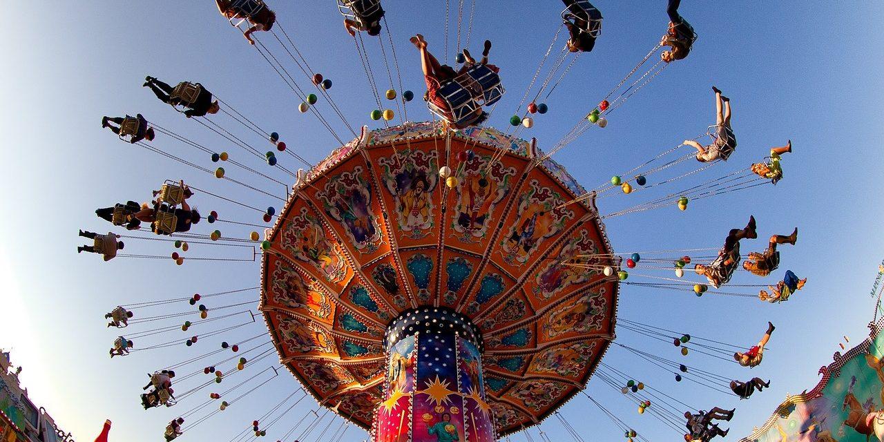 Oktoberfest Ride Carousel, Munich , Germany