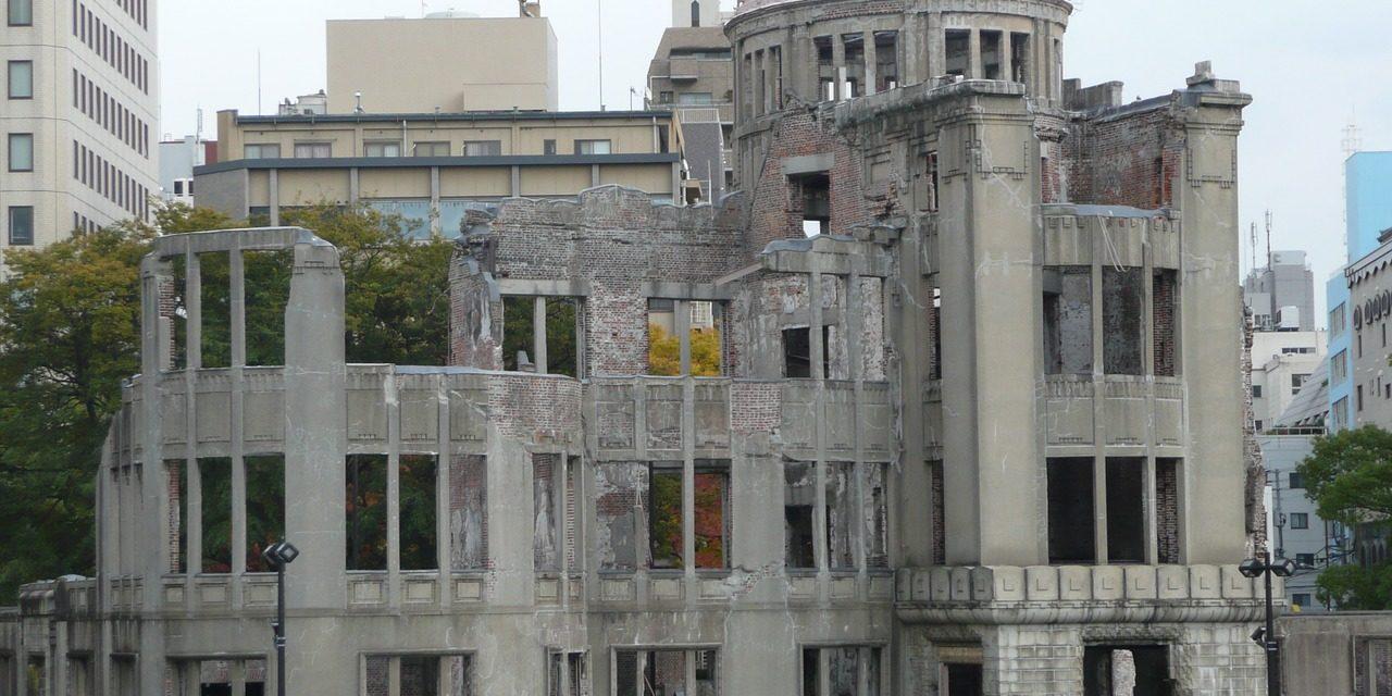Nuclear bomb reuins, Hiroshima, Japan