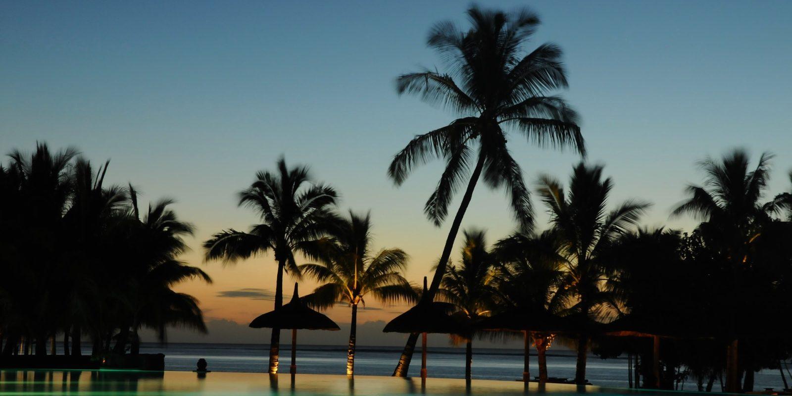 Sunset _Mauritius