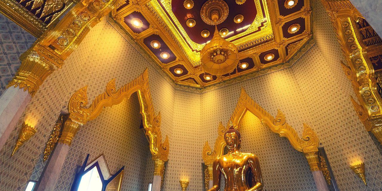 Golden Buddha, Bangkok, Thailand.