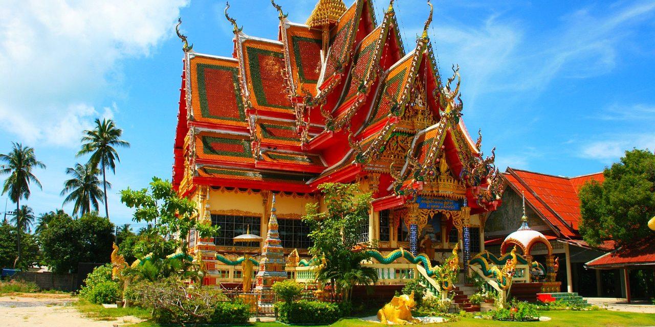 Temple Roof Wat Thai, Bangkok, Thailand
