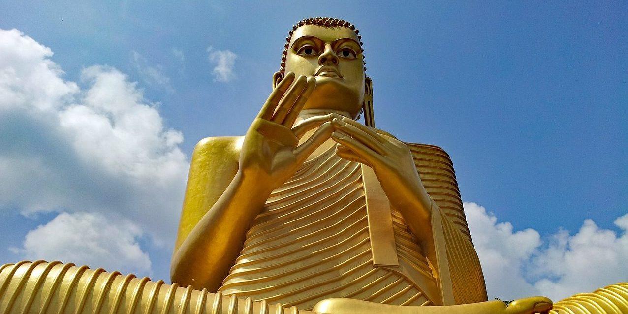 Buddha Cave Temple, Dambulla, Sri Lanka