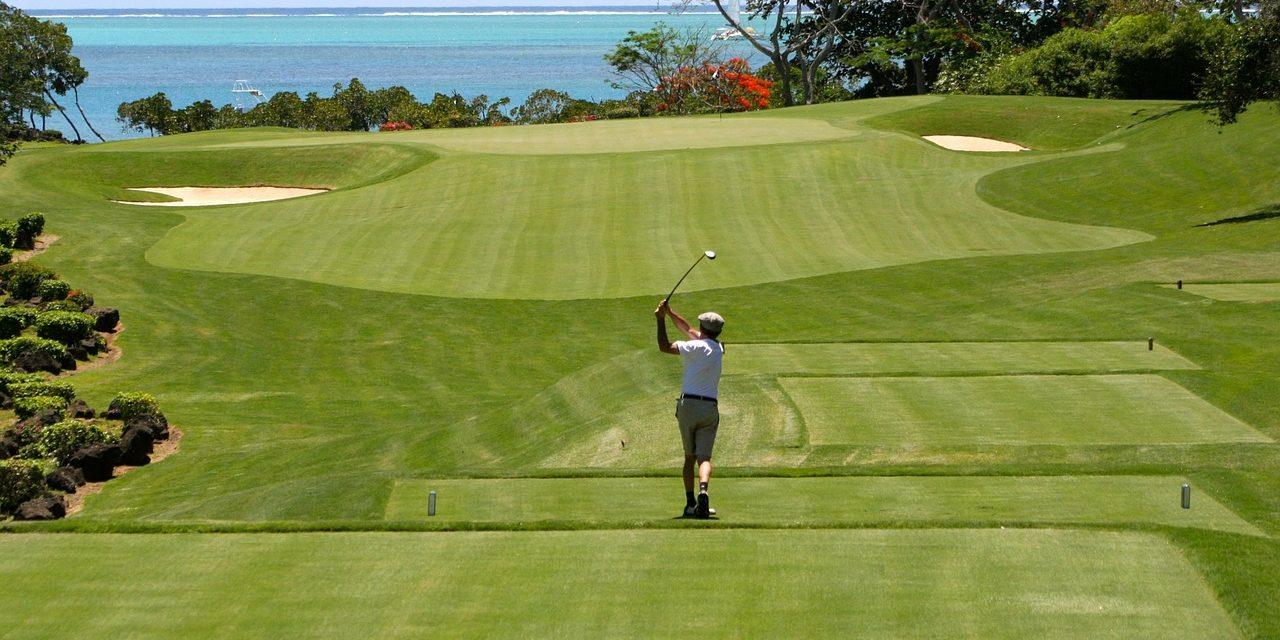 Golf-on the beach, Mauritius