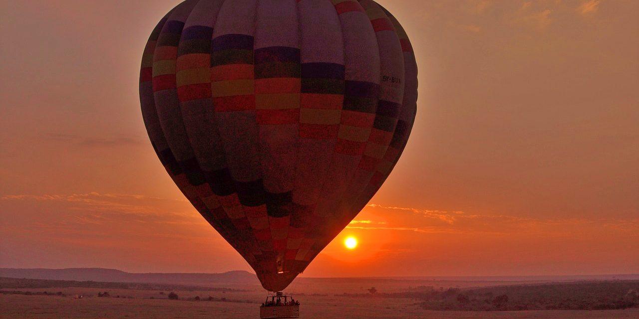 Kenya Hot air baloon Safari