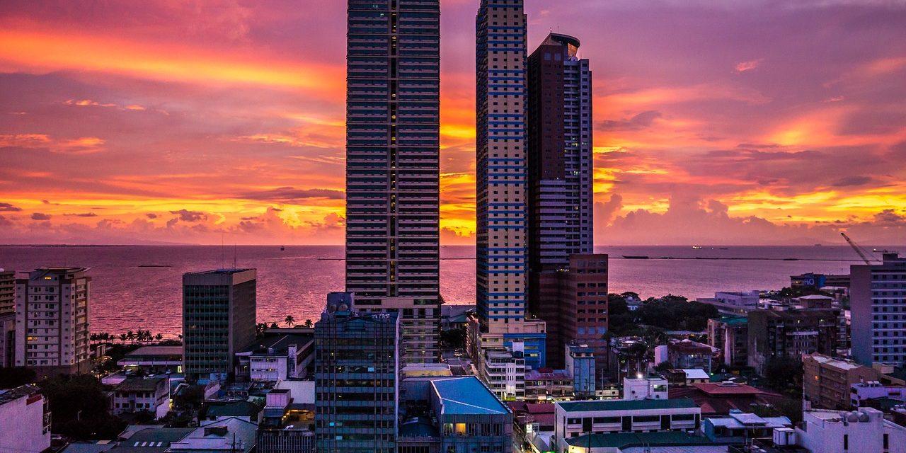 Manila_Sunset Skyline