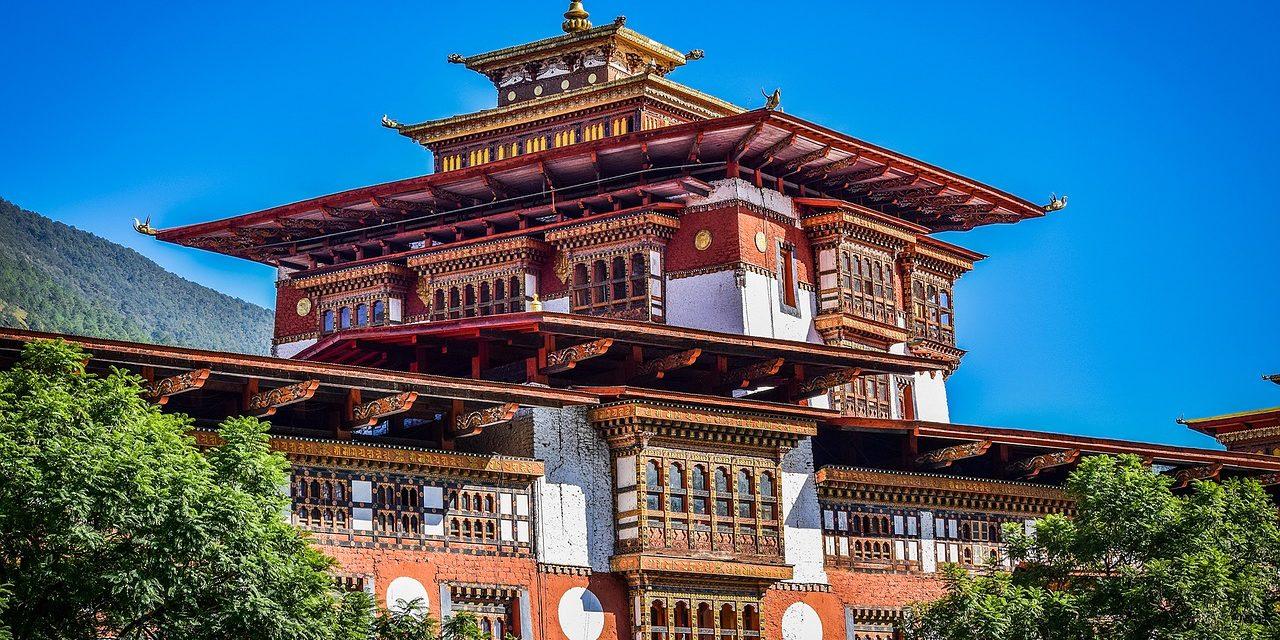 Palace, Punakha,Bhutan